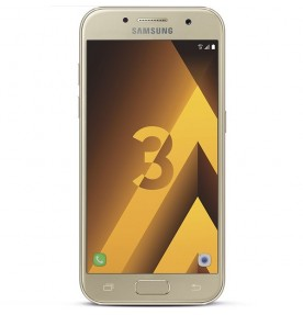 Telefon mobil Samsung Galaxy A3 (2017), 16GB, 4G, Gold Sand