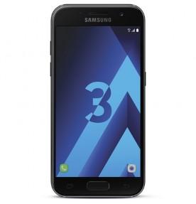 Telefon mobil Samsung Galaxy A3 (2017), 16GB, 4G, Black Sky